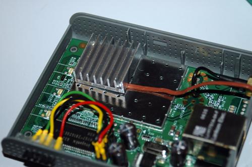 Thermal probe in the Fonera